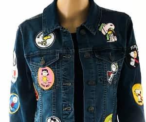 denim jacket, etsy, and denimjacket image