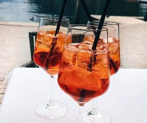 Cocktails, aperol spritz, and drinks image