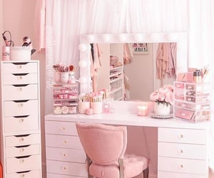 home, room ideas, and makeup image