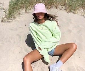 aesthetic, beach, and fashion image