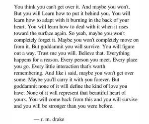 heartbreak, sad, and unbroken image