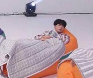 seokjin, baby, and chiquito image
