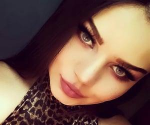 beauty, eyes, and leopardo image