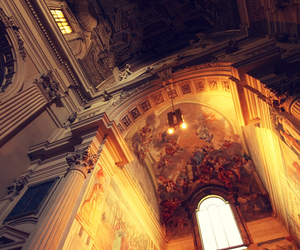 chiesa, church, and frescoes image