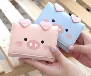 accesories, pigs, and wallets image