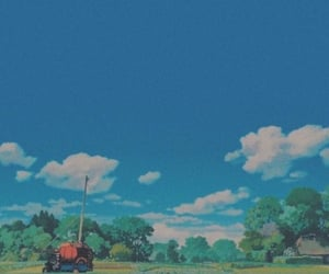 aesthetic, anime, and ghibli image