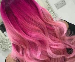 pink hair, hair goals, and fantasy color hair image