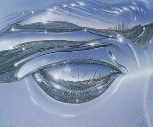 90s, glass, and fisheye image