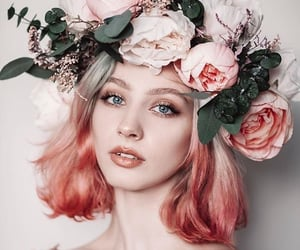 beautiful, color, and girl image