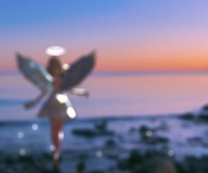 aesthetic, angel, and edit image
