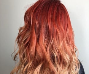 dye, hair, and ombre image