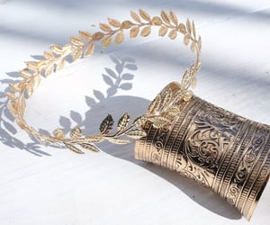 aesthetic, gold, and greek image
