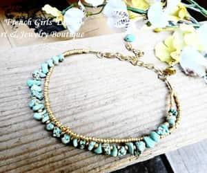 etsy, turquoise jewelry, and turquoise bracelet image