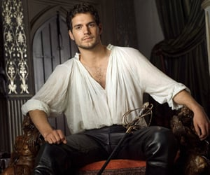 actor, Henry Cavill, and photoshoot image