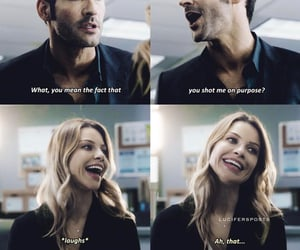 couple, deckerstar, and lucifer image