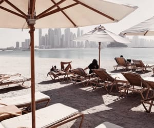 architecture, beach, and chill image