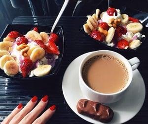 coffee, fruit, and food image