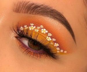 daisy, eye, and eyebrows image