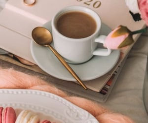 cappuccino, home, and morning image