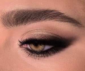 makeup, eyes, and woman image