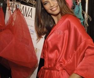 Adriana Lima, brunette, and fashion week image