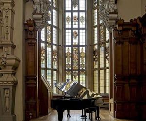 piano and architecture image