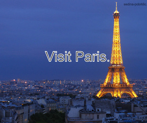 boy, city, and eiffel tower image