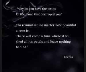 heartbroken, poetry, and quote image