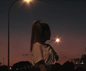 cielo, dark, and girl image