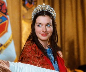 Anne Hathaway, film, and disney image