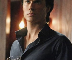 Vampire Diaries, damon salvatore, and tvd image