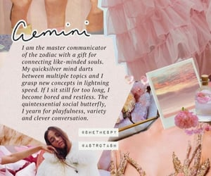 gemini, horoscope, and wallpaper image