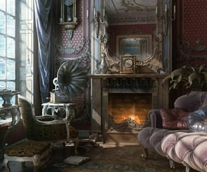 room, interior, and victorian image