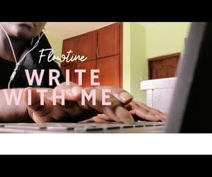 video, study with me, and write with me image