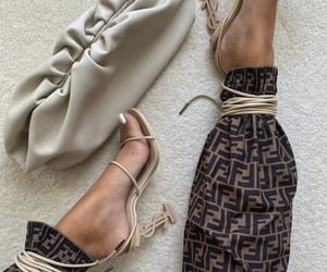 fashion, fendi, and heels image