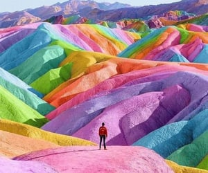 colors, travel, and colorful image
