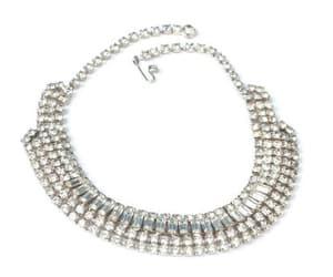 bridal necklace, etsy, and rhinestone bling image