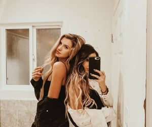 beautiful, hair, and best friend image