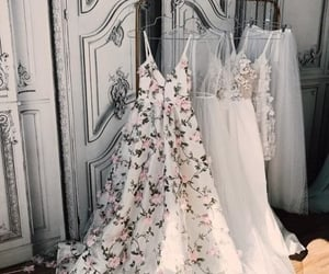 aesthetic, bride, and dresses image
