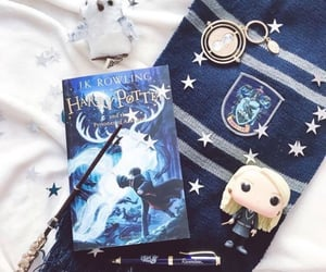 blue, aesthetic, and book image