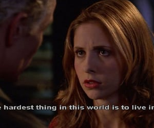buffy, message, and spike image