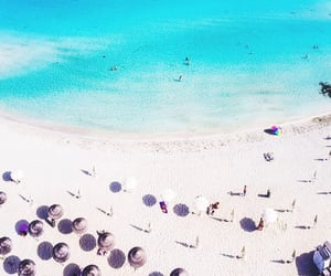 cyprus, travel, and nissi beach image