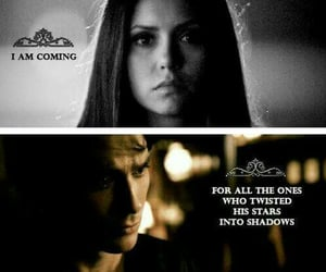 aesthetic, elena gilbert, and damon salvatore image