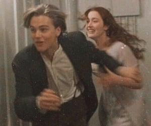 titanic, leonardo dicaprio, and movie image