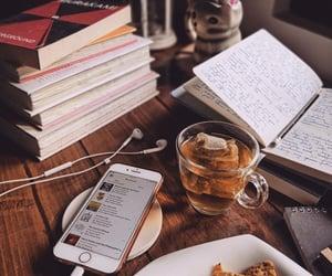 book and tea image