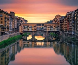 italy, architecture, and bridge image