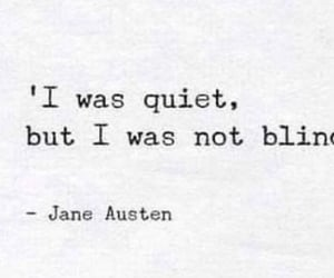 blind, jane austen, and poems image