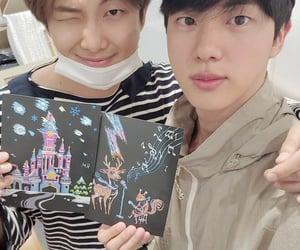 jin, namjoon, and rm image