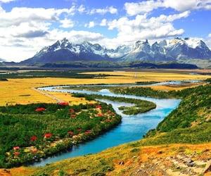 naturaleza, paraiso, and surdechile image