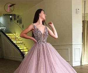 ball gown, sparkly prom dress, and kateprom image